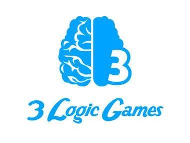 3LogicGames Logo Design