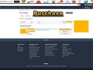 Amazon Work Sample