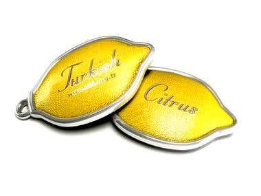 Turkish Citrus Keychain