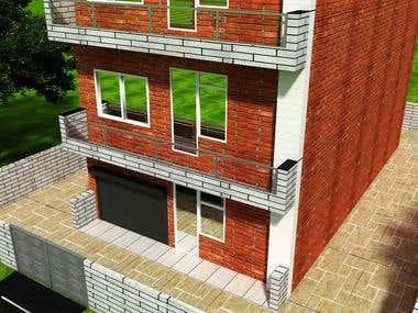 3DsMAX Exterior