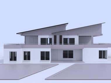 Exterior Basic House Render