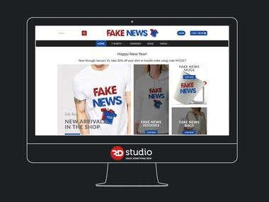 Fake News Tees