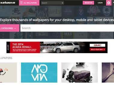 Wallpaper Sharing Website