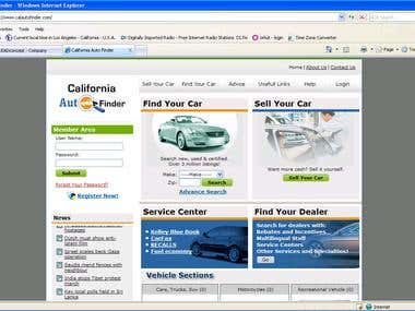 CalAuto Website