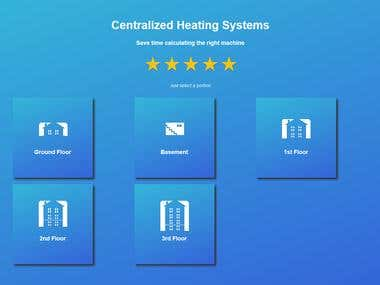 Centralized Heating System Calculator