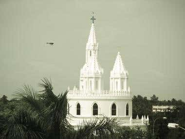 Tower -Velankani,Tamil Nadu