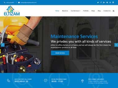 eltizam web site design & development