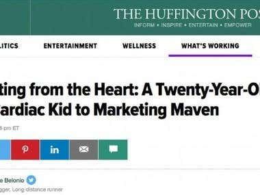 Featured Huffington Post Marketer