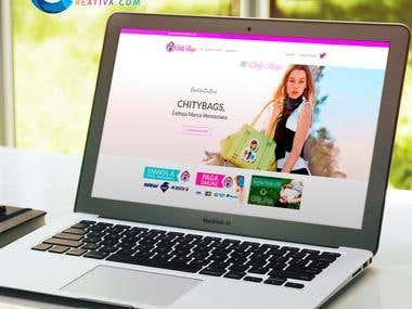 Carrito de Compras - Wordpress - www.Chitybags.com.ve
