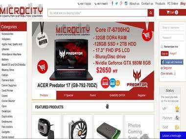 domicrocity.com - e-shop