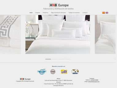 HNB Europe - textil de calidad para hostelería. Fabricante