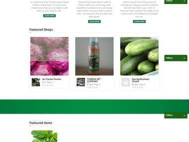 SENCE Agric Marketplace