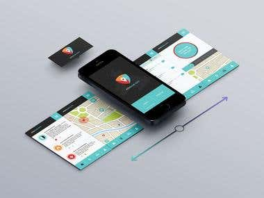 UI Mobile application design