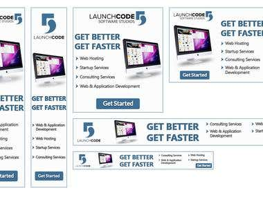 Google Ad Banners - Lauch Code5