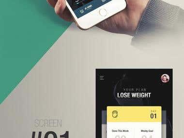 App Screen - Redesign