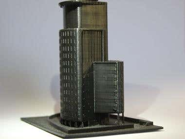 Ramzi tower 3D print