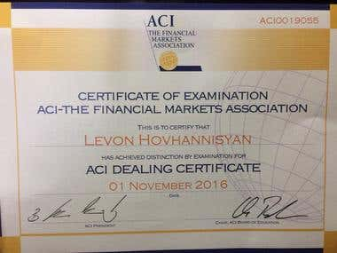 ACI - The Financial Markets Association