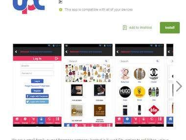 Universal Perfumes & Cosmetics (App Testing)