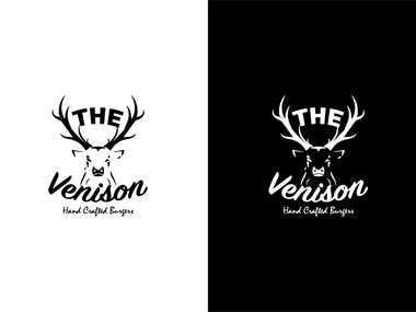 Logo: The Venison Burger Restaurant