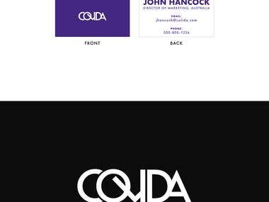 Logo and Business Cards: Colida