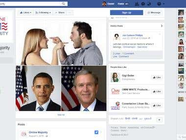 Facebook Marketing Project