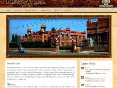 Museum CMS Website