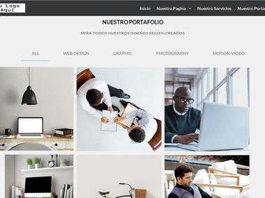 WEBSITE  - RESPONSIVE - PORTFOLIO - CSS3 - HTML5