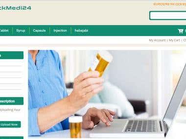 Online Phaymacy Store