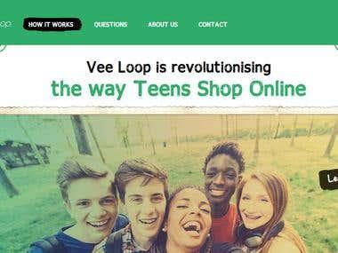 eCommerce Site - VeeLoop.com