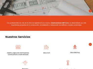 Plantilla de WordPress | Google Map | Filtro de Experiencias