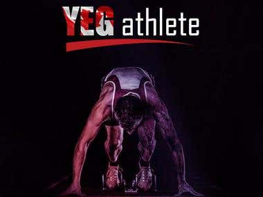 YEG Atheletes Facebook Display Picture & Cover Design