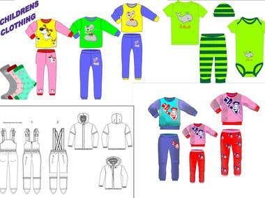 CHILDREN`S CLOTHING DESIGN