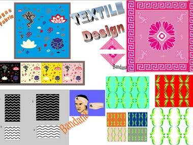 TEXTILE DESIGN (Seamless patterns)