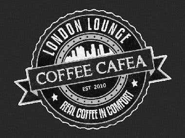 Retro Coffee Shop Logo