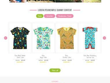Kids Online wear