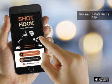 ShotHook - Social Networking App