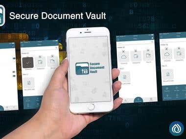 Secure document page