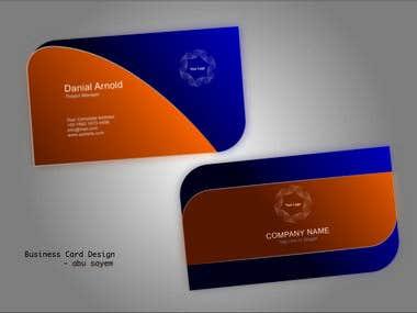 Business Card, Logo, Leaflet design.
