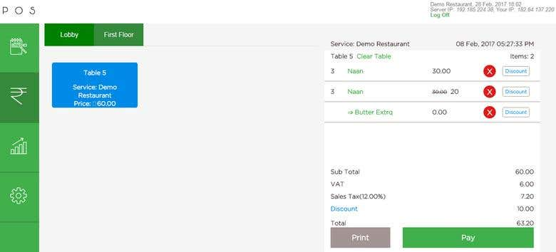Point of Sales system of Restaurants & Retails   Freelancer