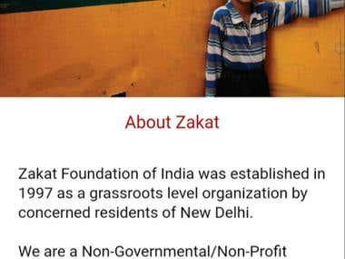 Zakat App