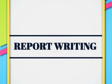 Report / Technical Writing