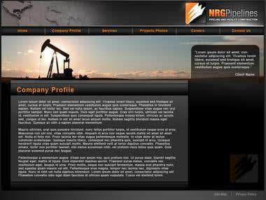 NRG Pipelines Website