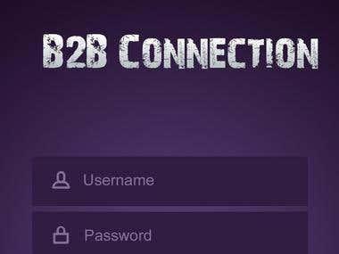 B2B application