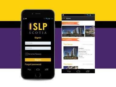 SLP - IOS Info application is an integrated information sys