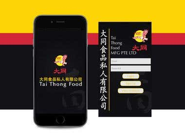 Tai Thong Food -  Food Ordering App