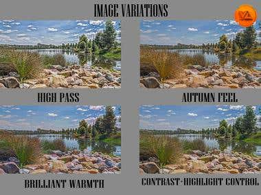 professional altering of images