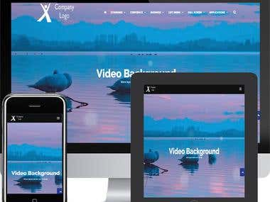 Responsive website design and hosting