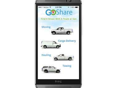 GoShare - Customer App