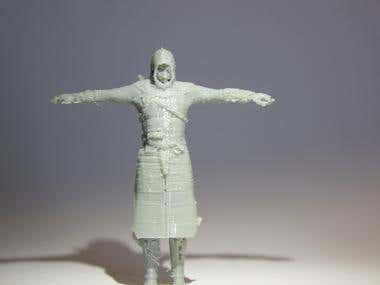 Assassin's merger 3D print