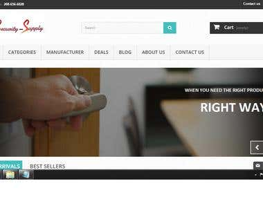 Prestashop Security Tools supply E commerce Website
